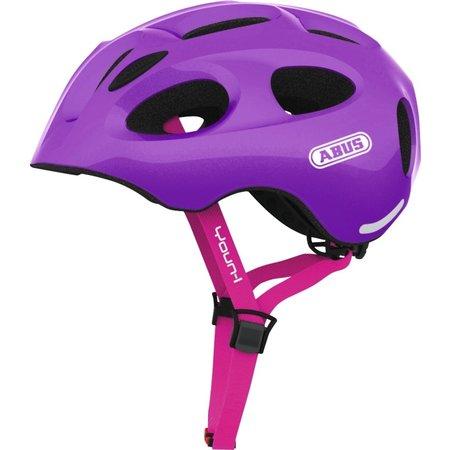 ABUS Kinderhelm Youn-I Sparkling Purple M
