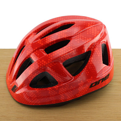 ONE Bikeparts Kinderhelm Racer Red S/M