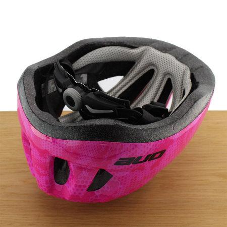 ONE Bikeparts Kinderhelm Racer Pink S/M