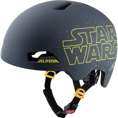 Alpina Kinderfietshelm Hackney Disney Star Wars Black