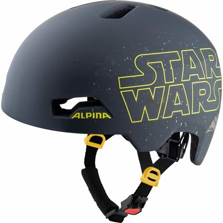 Alpina Kinderfietshelm Hackney Disney Star Wars Black - 47-51 cm