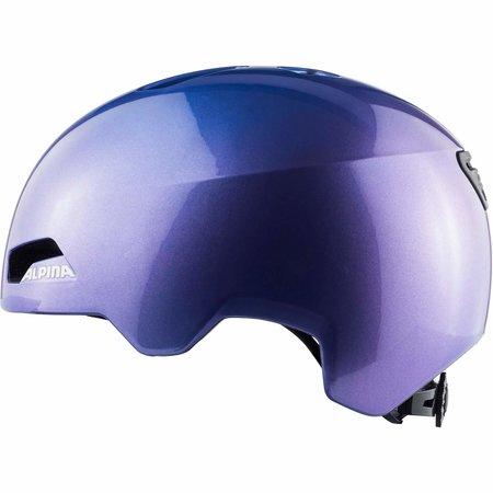 Alpina Kinderfietshelm Hackney Flip Flop Purple - 51-56 cm