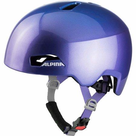Alpina Kinderfietshelm Hackney Flip Flop Purple - 47-51 cm