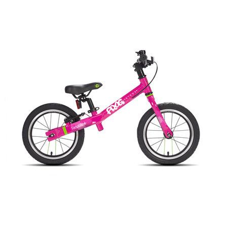 Frog Bikes Loopfiets Tadpole Plus Roze - luxe voor 3-4 jaar