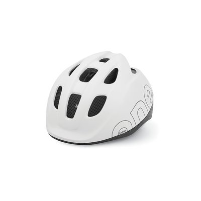 Bobike Kinderhelm ONE snow white xs