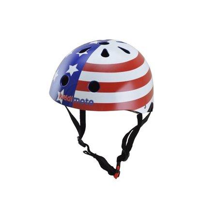Kiddimoto Kinderhelm USA Flag Small