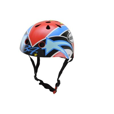 Kiddimoto Kinderhelm Hero Schwantz Medium