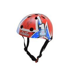 Kiddimoto Kinderhelm Hero Foggy Medium