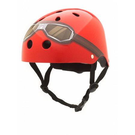 CoConuts Kinderhelm Red Goggle Medium