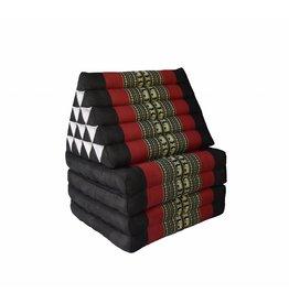 Thai Moonz Floor Cushion XL 4 Mat Black/Red