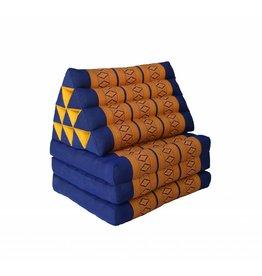 Thai Moonz Floor Cushion Original 3 Mat Blue/Orange