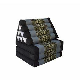 Thai Moonz Floor Cushion Original 3 Mat Black/Grey