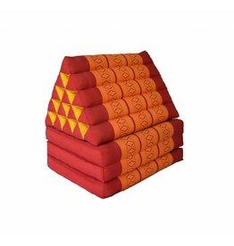 Thai Moonz Floor Cushion XL 3 Mat Red/Orange