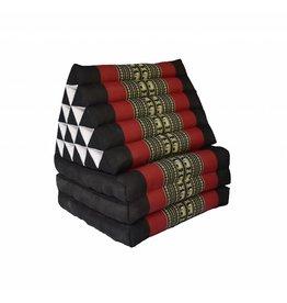 Thai Moonz Floor Cushion XL 3 Mat Black/Red