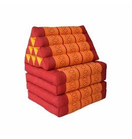 Thai Moonz Floor Cushion Original 4 Mat Red/Orange