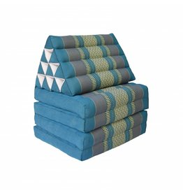Thai Moonz Floor Cushion Original 4 Mat Blue/Grey
