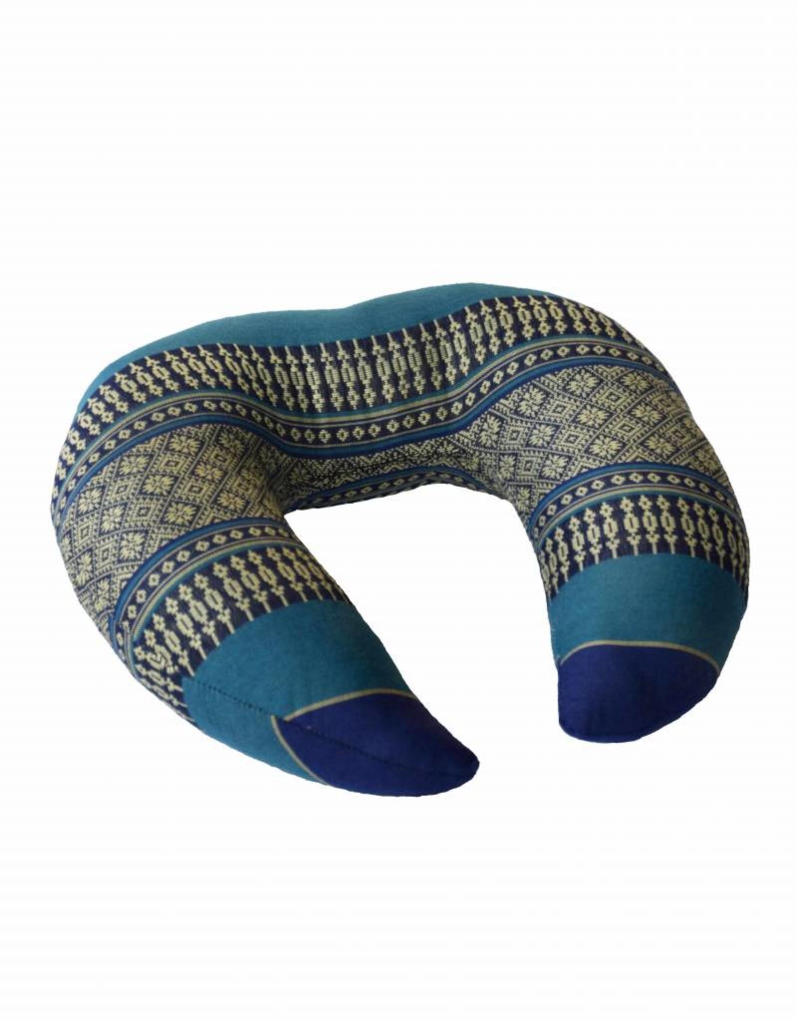 Thai Moonz Handmade Neck and Travel Pillow Fly Dark Blue/Blue