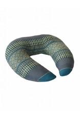 Thai Moonz Handmade Neck and Travel Pillow Fly Blue/Grey