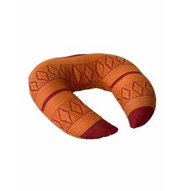 Thai Moonz Handmade Neck and Travel Pillow Fly Red/Orange