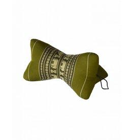 Thai Moonz Handmade Neck Pillow Star Green