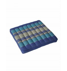 Thai Moonz Thai Seat Cushion / Garden Cushion (L) Dark Blue/Blue