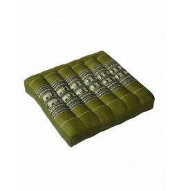 Thai Moonz Thai Seat Cushion / Laptop Cushion (M) Green