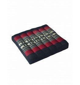Thai Moonz Thai Seat Cushion / Laptop Cushion (M) Black/Red