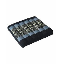Thai Moonz Thai Seat Cushion / Laptop Cushion (M) Black/Grey