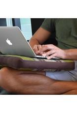 Thai Moonz Thai Seat Cushion and Garden Cushion (Medium/Large) Brown/Green