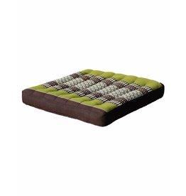 Thai Moonz Thai Seat Cushion / Garden Cushion (M/L) Brown/Green