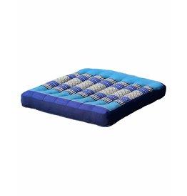 Thai Moonz Thai Seat Cushion / Garden Cushion (M/L) Dark Blue/Blue