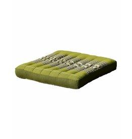 Thai Moonz Thai Seat Cushion / Garden Cushion (M/L) Green