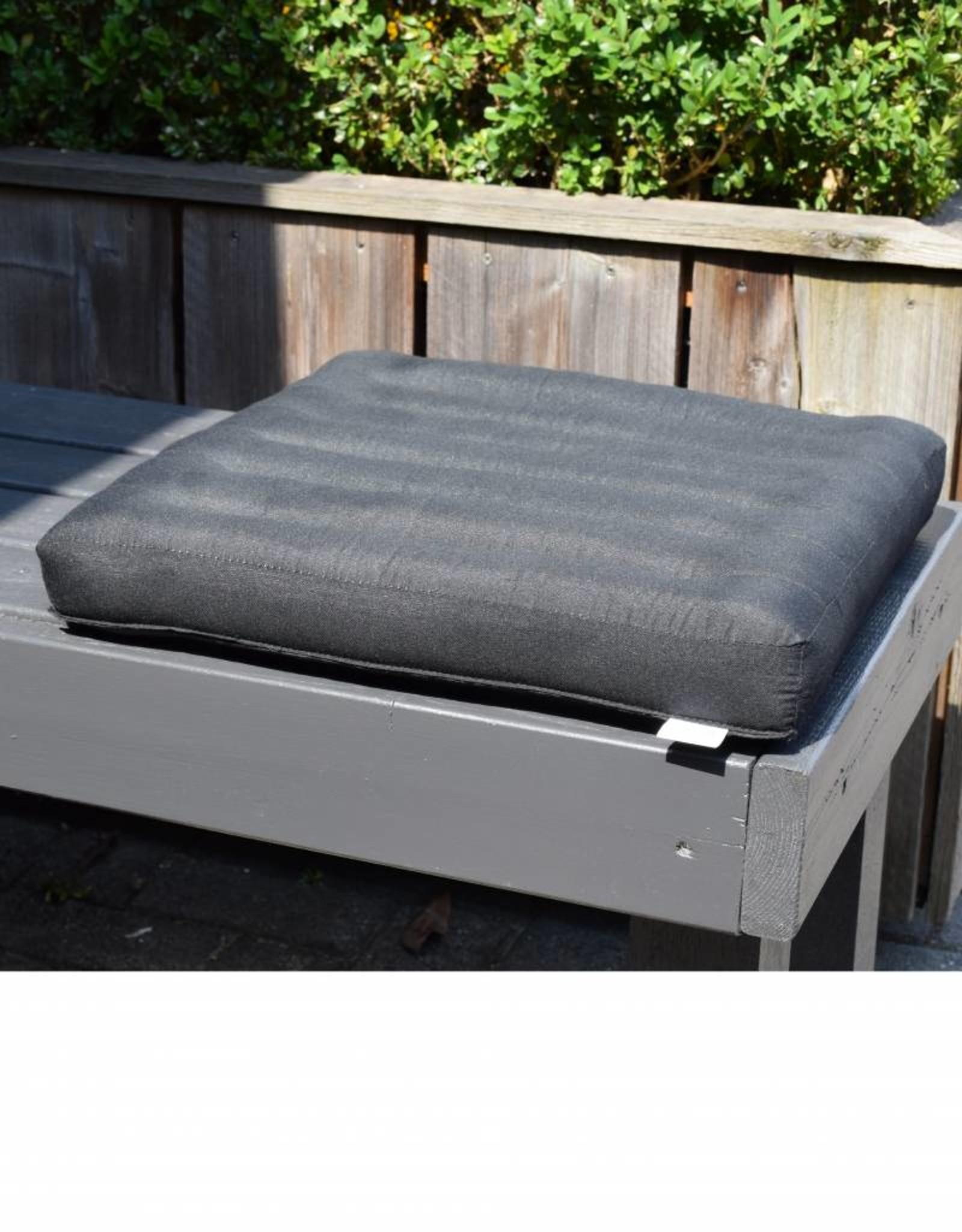 Thai Moonz Thai Seat Cushion and Garden Cushion (Medium/Large) Black