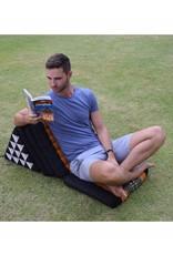 Thai Moonz Thai Floor Cushion Triangle Pillow XL 3 Mat Black