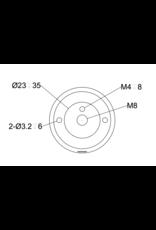 Filex Galaxy Universele Toolbar/Wandklem accessoires