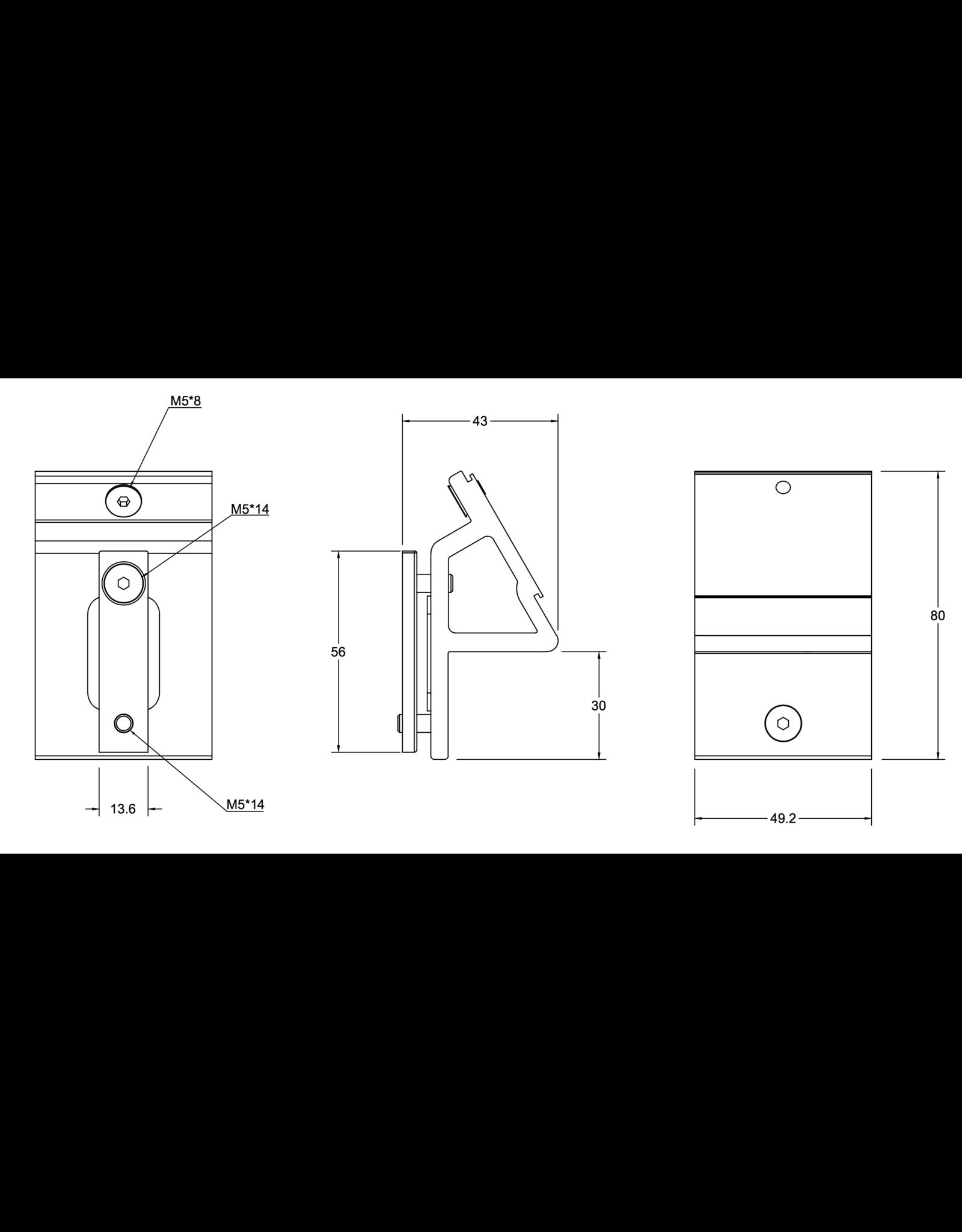 Filex Galaxy Elektrificatie houder accessoires