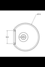 Ergo Galaxy Bladklem inclusief doorvoer accessoires