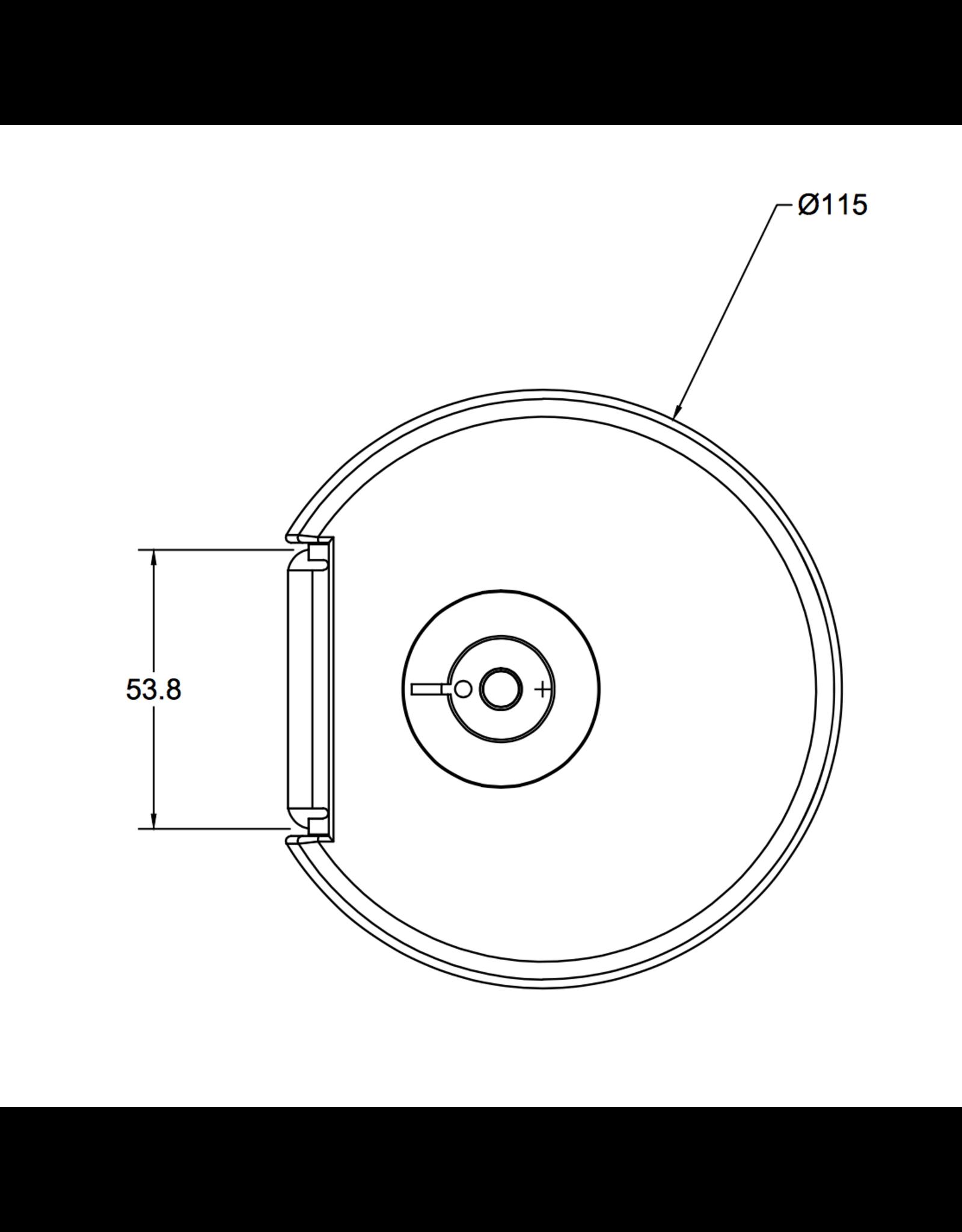 Filex Galaxy Bladklem inclusief doorvoer accessoires