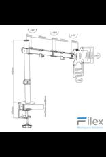 Filex Focus Monitorarm 1
