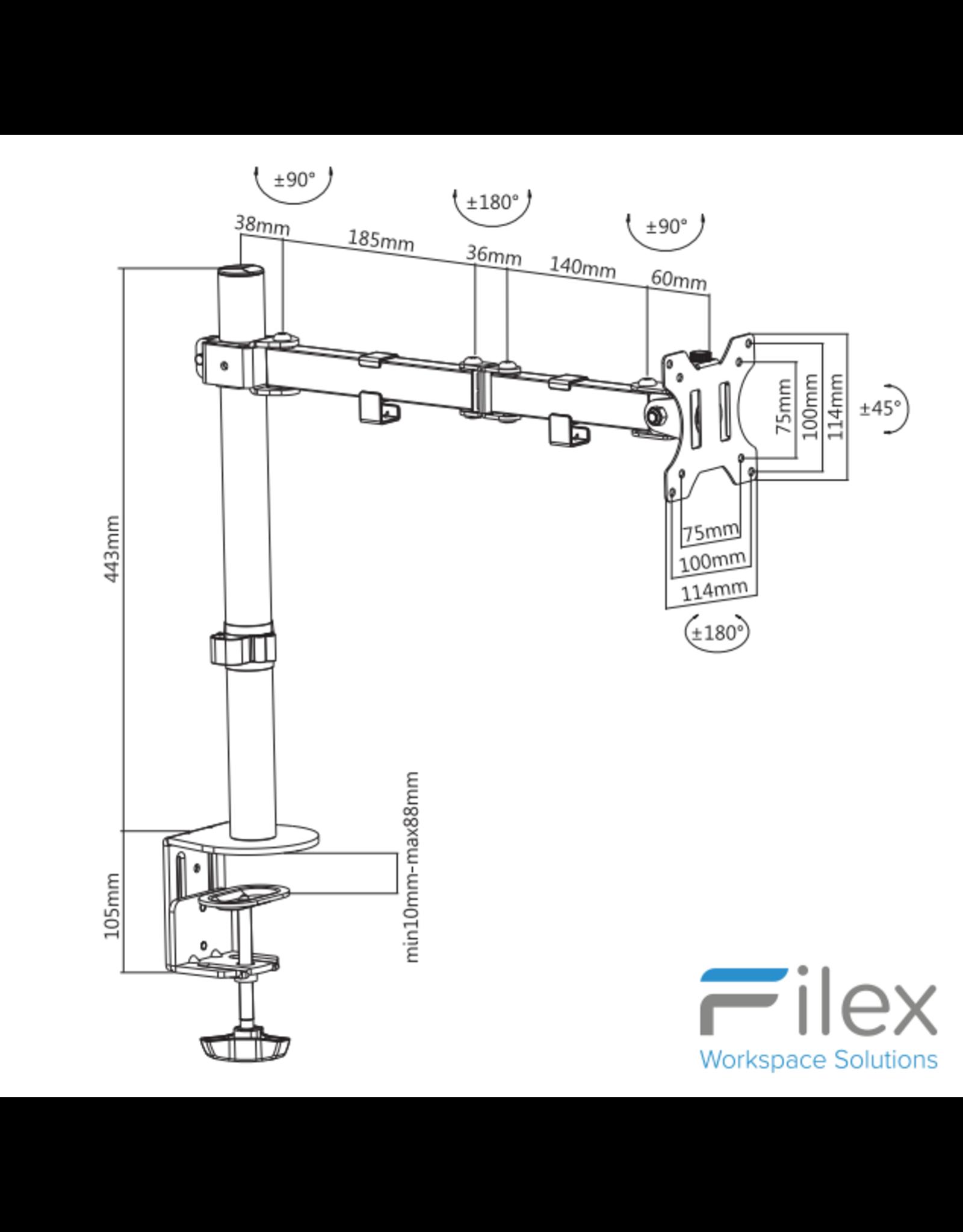 Filex Focus Monitorarm 2