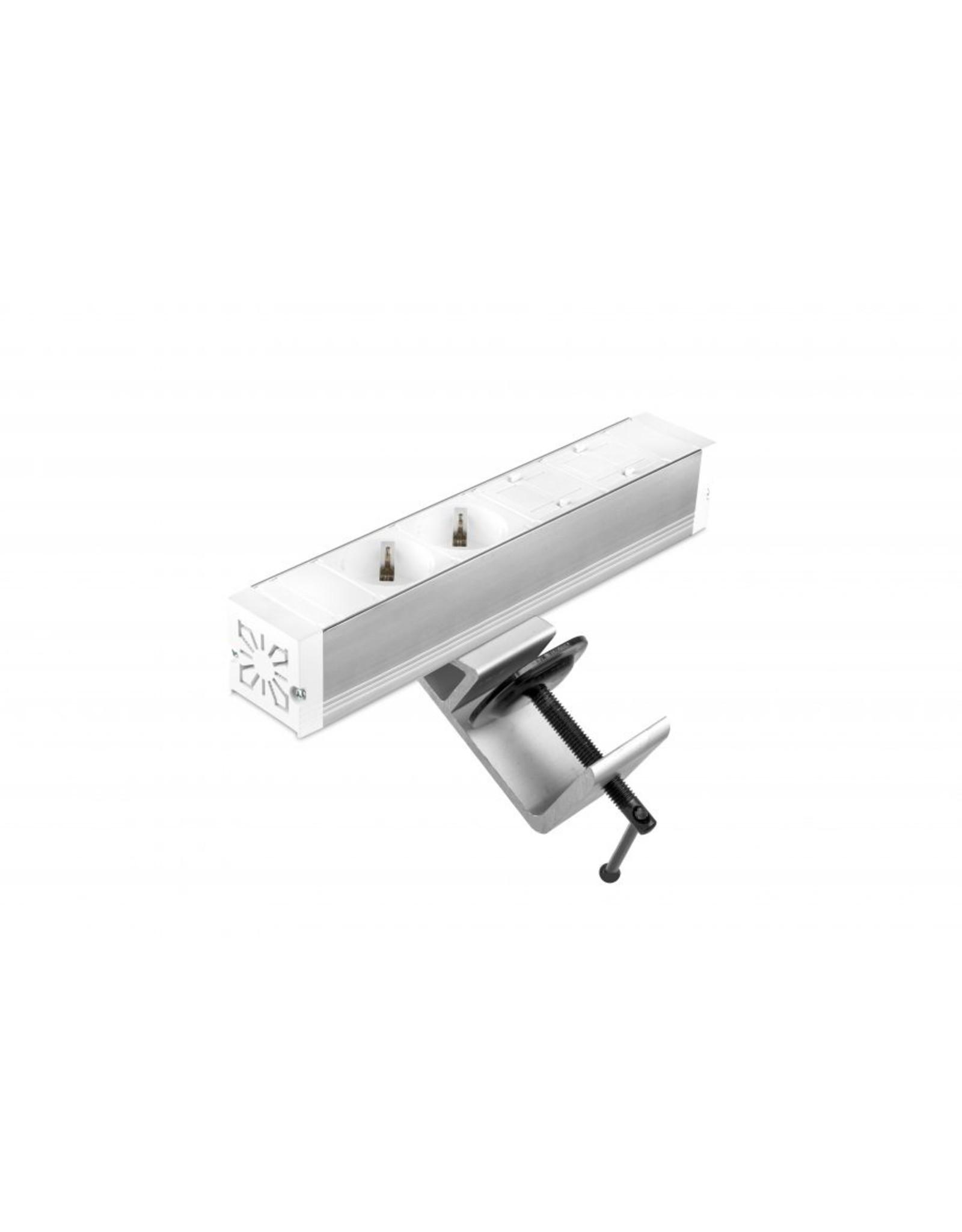 Ergo Power Desk up - 2x 230V - 2x Keystone