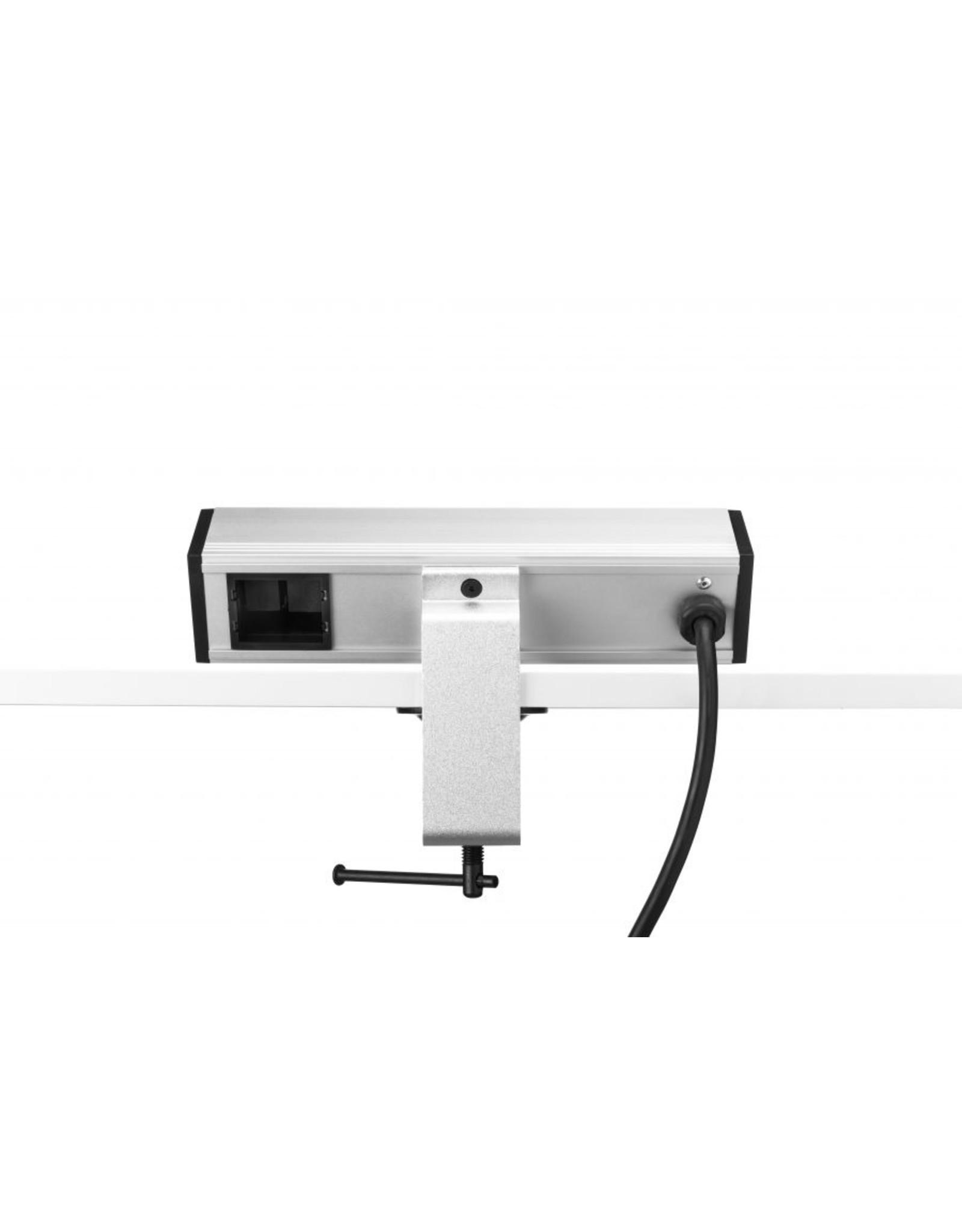 Ergo Power Desk up - 2x 230V - 2x USB charger - 1x Keystone
