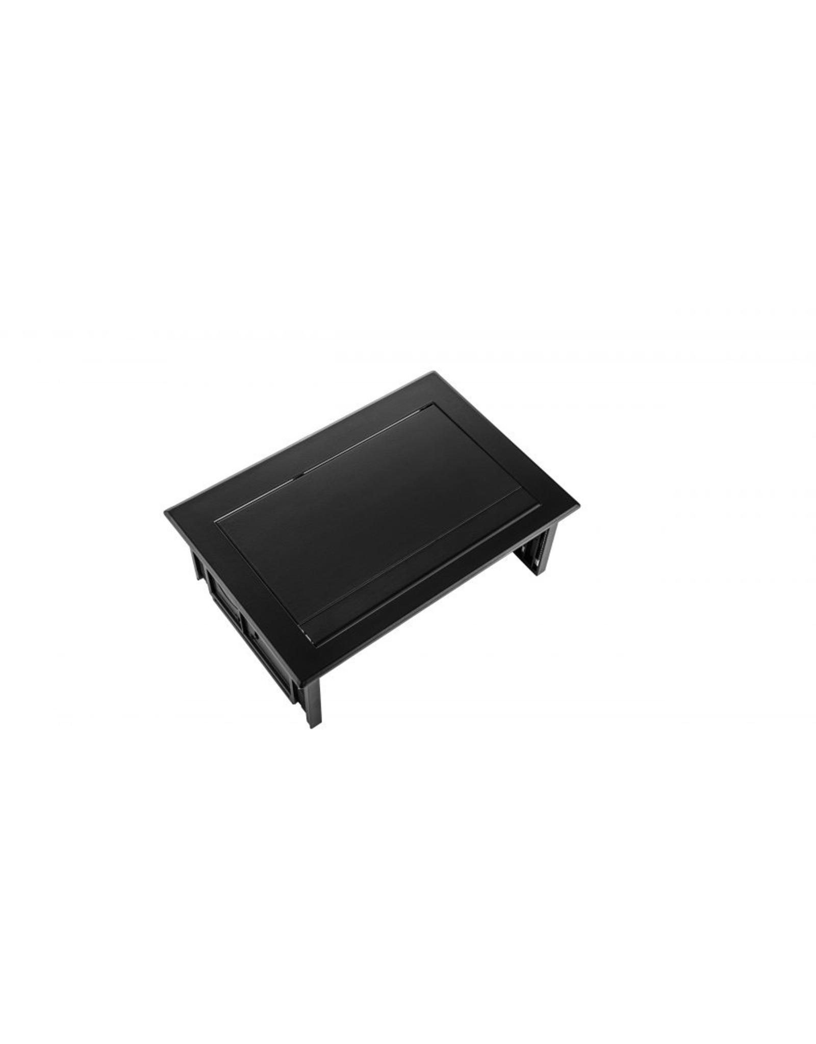 Ergo Power Desk In - 2x 230V - 1x Keystone