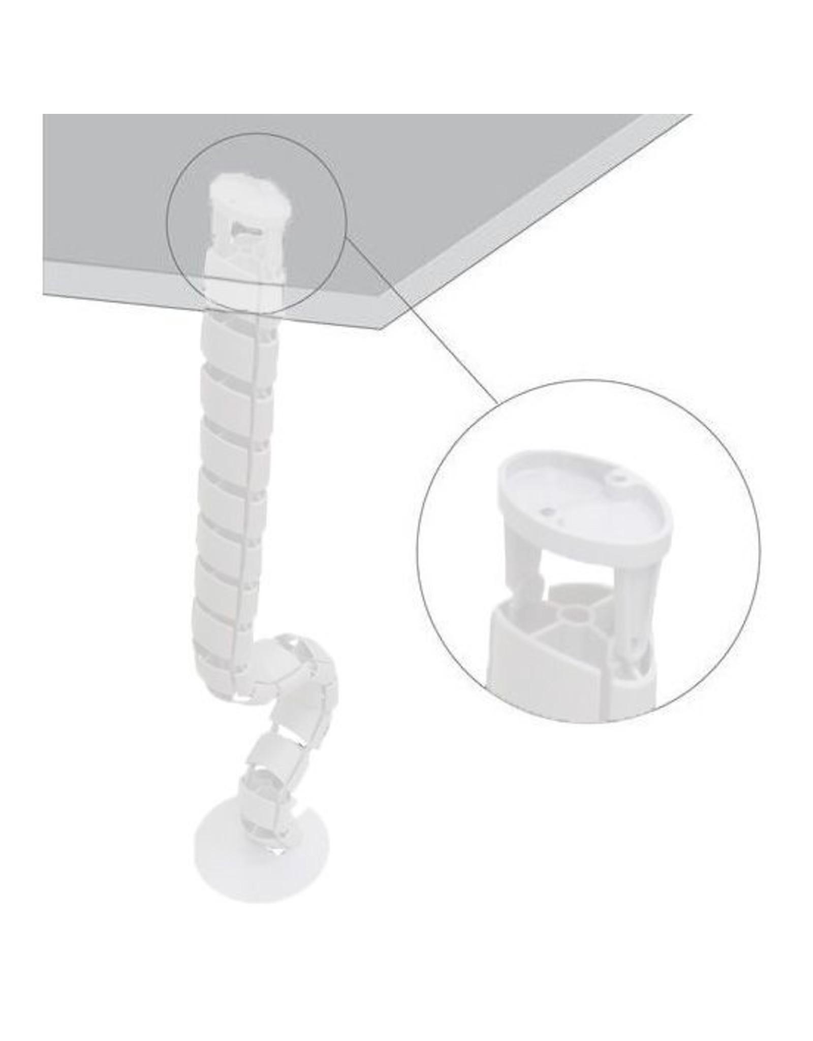 Ergopro Spine Kabelgeleider met voet