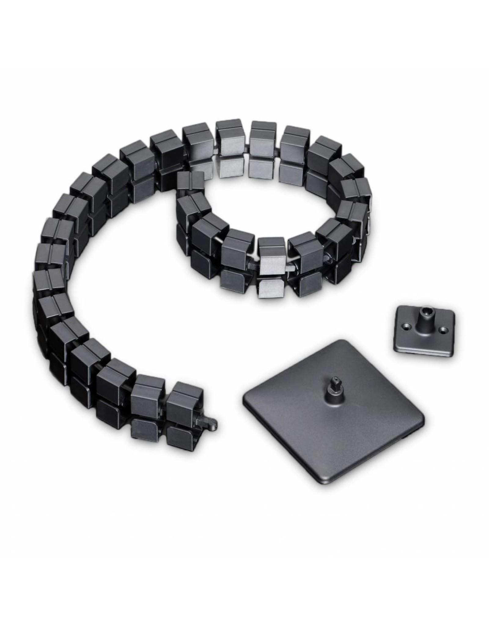 Ergopro Square Kabelgeleider met voet