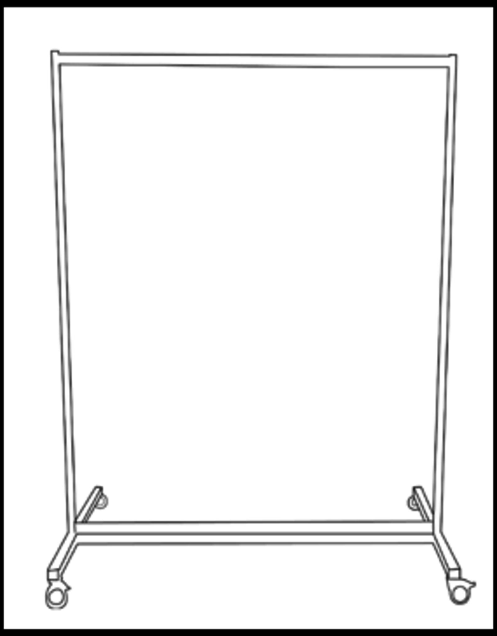 Plexio Vloerwand