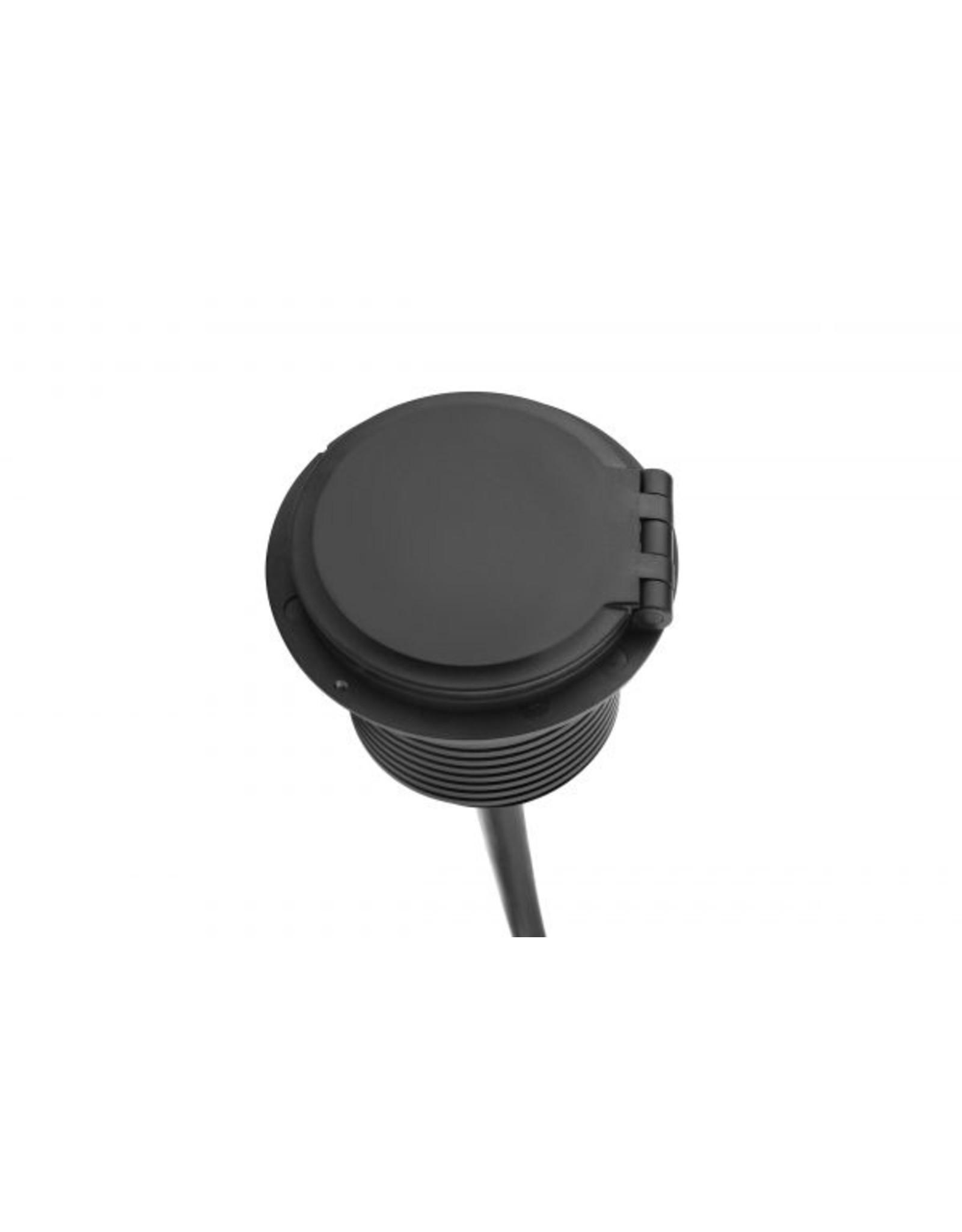 Ergo QI Power-Spot - 1x 230v, 1x USB A+C Charge, 1x Doorvoer