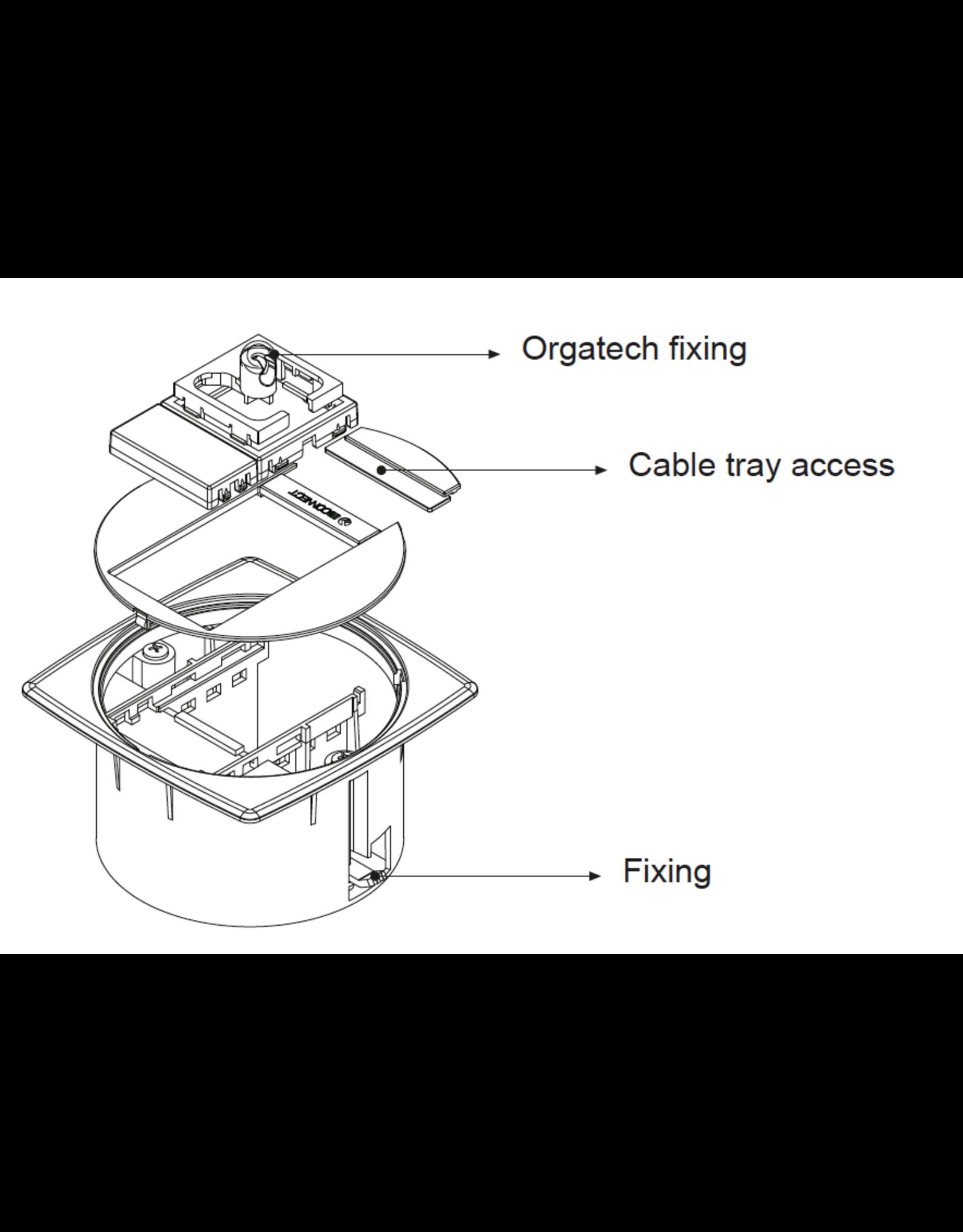 Kabeldoorvoer | Vloer & Plafond