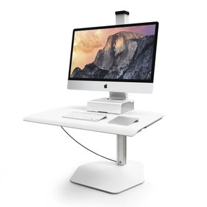 Innovative Winston Freestanding Apple iMac verstelbare werkplek
