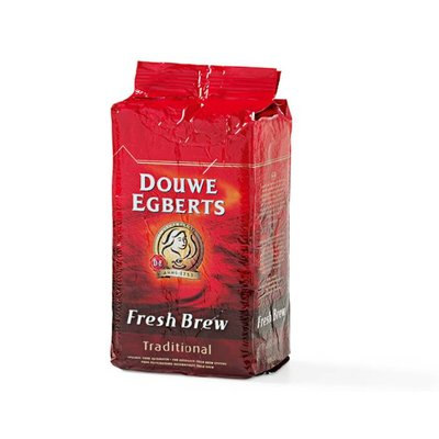 D.E. Fresh Brew gemalen traditional rood per k.g.